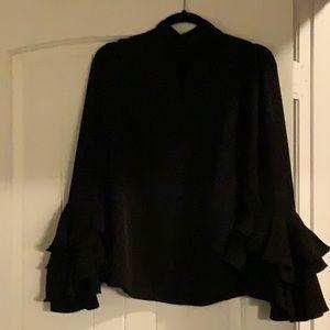 Fun black blouse